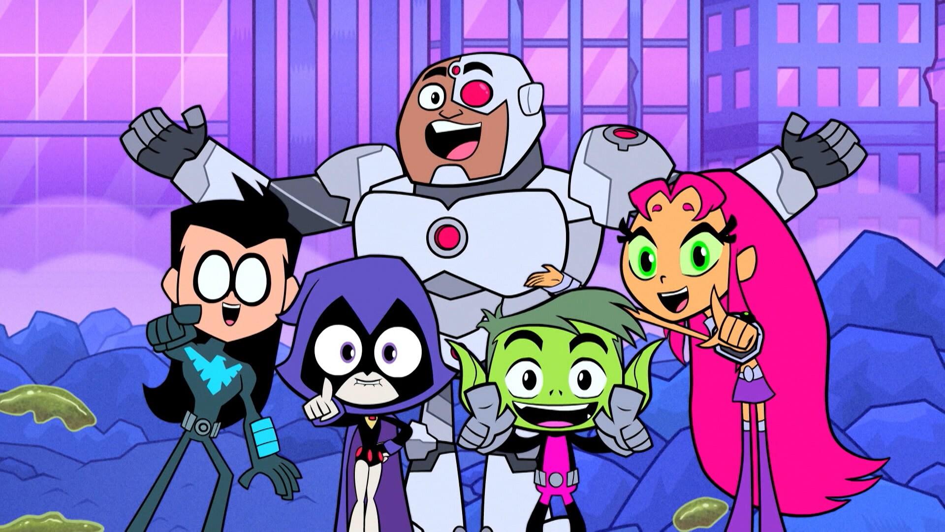 5 nye Ravens   Teen Titans Go-videoer   Cartoon Network